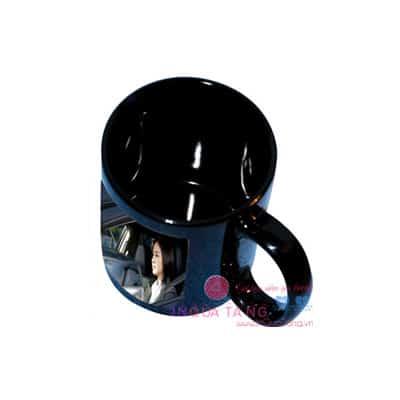 Cốc đen in ảnh cá nhân, in ảnh lên cốc đen, in hình lên cốc đen, cốc đen in hình