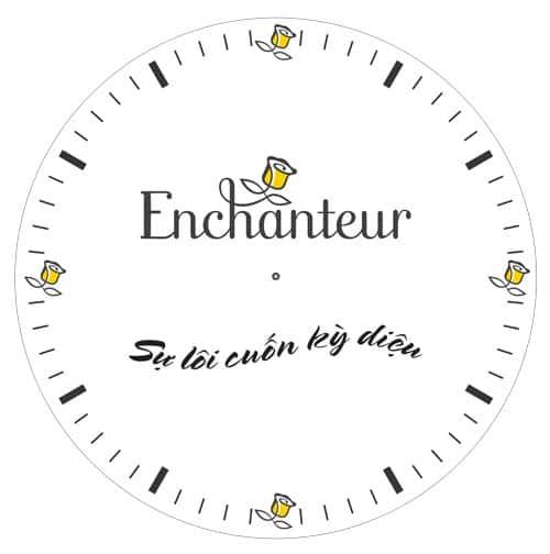 dong ho ro enchanture In đồng hồ quà tặng doanh nghiệp, in quảng cáo trên đồng hồ