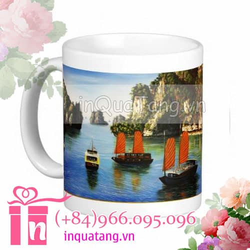 personalised mugs photo mugs personalized travel mugs vietnam 5 Personalised mugs travel Ha Long Bay mugs