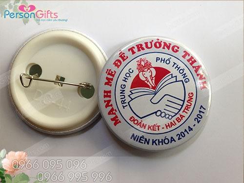 32d38b28 Làm huy hiệu cài áo tại hà nội in huy hiệu nhựa giá rẻ