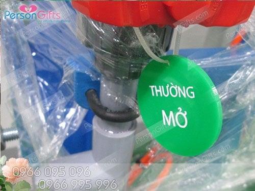 moc khoa thuong dong thuong mo do xanh Làm in móc khóa thường đóng thường mở gas nước